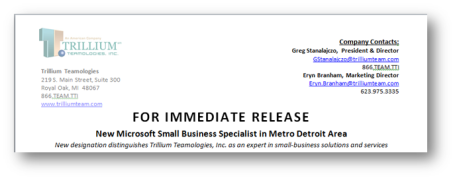 microsoft word press release template marketing with microsoft